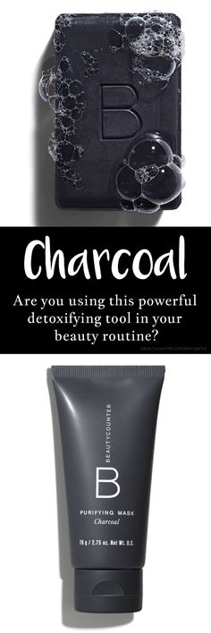 Charcoal is an incredible multitasking ingredient due to it's detoxifying and balancing properties. This mask deep-cleans, nourishes, purifies, and soothes skin for a brighter, smoother, and even appearance. It has properties to exfoliate the skin chemically rather than using harsh irritants to manually exfoliate. A must have for regular skin care and great for spot treatments too! Shop: beautycounter.com/jennyprior