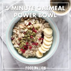 """What's the secret to this """"instant"""" oatmeal recipe? It's all in the prep. This power bowl is prepared overnight like overnight oats, so a little prep can make for a quick morning breakfast."""