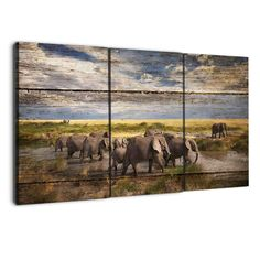 Brown and silver world map map canvas free shipping and products albyden art elephants collection wood texture 26 gumiabroncs Images