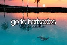 Go to Barbados #Bucket list #Before I Die