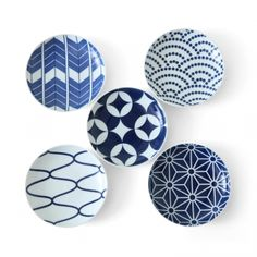 縁起の良い伝統柄をモチーフにした取皿の5枚セット「KIHARA/KOMON 取皿 5種セット」の紹介ページです。