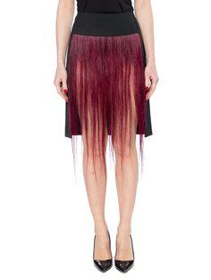 1990s Judith Hugener Avant Guarde Hair Skirt