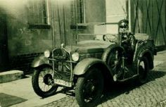 1929-32 BMW 3/15 DA-2 BMW a military vehicle for Reichswehr