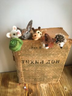 Your place to buy and sell all things handmade Nuno Felting, Needle Felting, Cute Baby Sloths, Felt Bookmark, My Bookmarks, Book Markers, Felt Mouse, Creepy Dolls, Needle Felted Animals