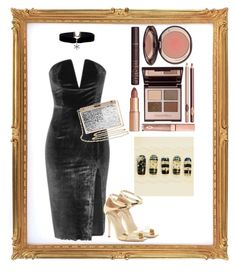 """""""Cocktail party"""" by julie-lg ❤ liked on Polyvore featuring Via Spiga and Charlotte Tilbury"""