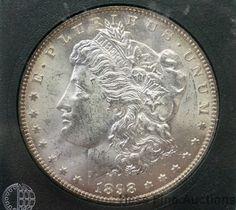 1898 O Morgan Silver One Dollar $1 American Coin