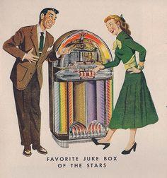 1940s jukebox ad. Makes my heart happy. :)