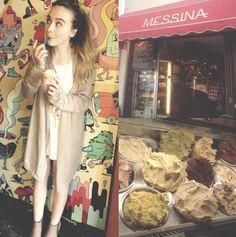 Photo: Sabrina Carpenter's Ice Cream Stop October 1, 2014