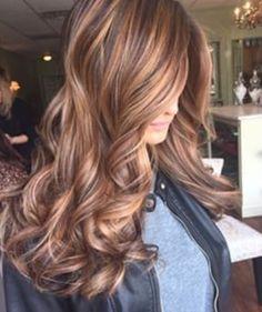 Light brown & caramel colors
