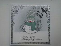 Penny Black snowman