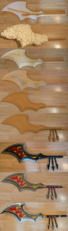 How to make a Dragon blade prop