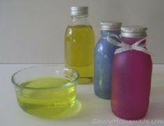 Homemade Bath oil