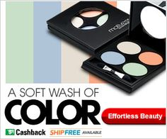 Motives Fantasy Palette features four new #mineral #eye #shadows inspired by the water colors of this season's fashion trends. These delicate hues add a soft pop of color to complete any spring/summer look. Achieve a new look with the Motives Fantasy Palette. $29.95 http://www.shop.com/steveg/792142538-p+260.xhtml?vid=243380