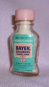 Bayer Children's Aspirin--My mother was a firm believer in this and Vick's Vaporub!