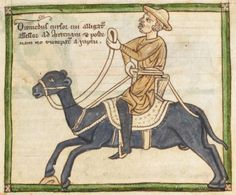 Animal detail from medieval illuminated manuscript, British Library Harley MS Medieval Manuscript, Illuminated Manuscript, Bayeux Tapestry, British Library, Beauty And The Beast, Miniatures, Ms, Animals, Detail