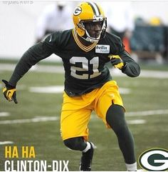 Haha Clinton-Dix during rookie workout with the Green Bay Packers