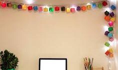Resultado de imagem para luminárias criativas para o natal