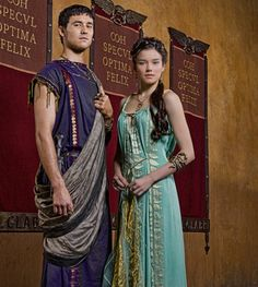 Spartacus: Vengeance--brother and sister..