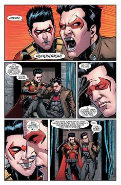 Batman & Robin - Eternal - January 2016. Adorable brotherly love❤️❤️❤️❤️❤️