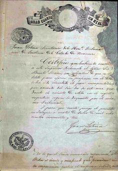 DOCUMENTO-111-C1. (1 imagen anverso) Expediente que comprende los documentos relativos al destierro del  ciudadano Benito Juárez. Oaxaca, Puebla; Jalapa, mayo-diciembre de 1853. Benito Juárez, vol. 1, exp. 26, fs. 13, 14 y 15 ~ AGN