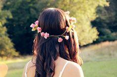 Do-it-yourself: Bloemenkrans voor in je haar