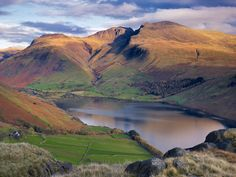 Scafell Pike and Wastwater in Wasdale Valley, Lake District, Cumbria, UK/Credit: Joe Cornish, Getty Lake District, Cumbria, Yorkshire Dales, Yorkshire England, Cornwall England, Destinations, English Countryside, World Heritage Sites, Beautiful Landscapes