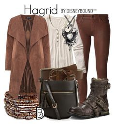 """Hagrid"" by leslieakay ❤ liked on Polyvore featuring Koral, Chan Luu, Patagonia, Leatherock, Monsoon, UGG Australia and harrypotter"