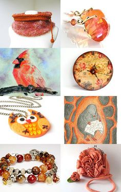 POLetsy in CELOSIA ORANGE by poletsy on Etsy--Pinned with TreasuryPin.com