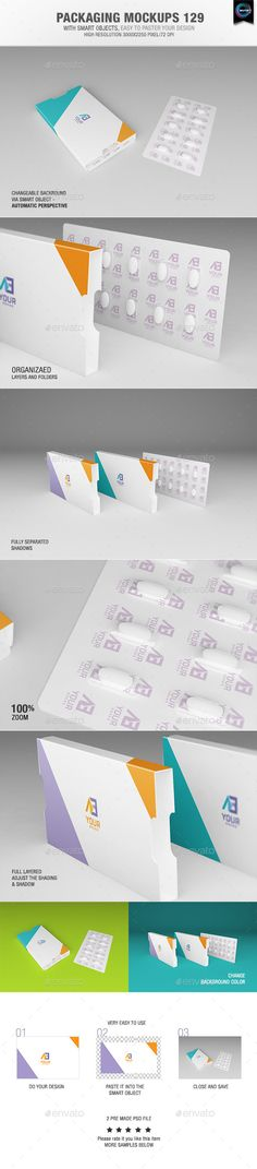 Packaging Mock-ups | Download: http://graphicriver.net/item/packaging-mockups-129/11038649?ref=ksioks