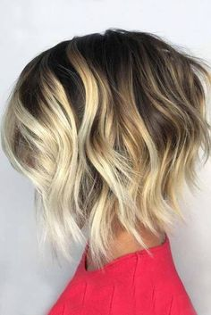 Blonde Stacked Bob Styles picture2