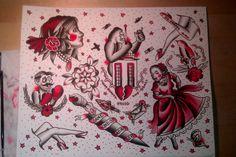 Traditional Tattoo Art