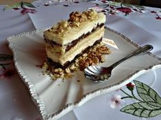 Uralské rezy (fotorecept) - obrázok 13 Desert Recipes, Nutella, Baked Goods, Tiramisu, Food And Drink, Cooking Recipes, Pie, Sweets, Snacks