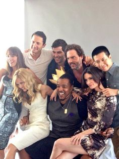 The cast of Grimm at comic con 2014. Love this series it's so interesting.