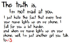 Break Up Quotes for Girls   ... http://www.pics22.com/the-truth-is-break-up-quote/][img] [/img][/url
