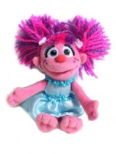 "Sesame StreetAbby 6"" Beanbag"