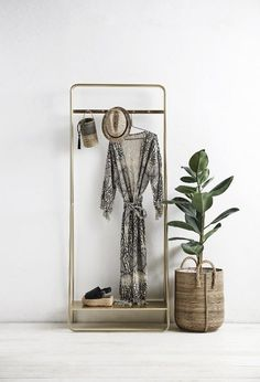 Gold coat racks - home-lust.com