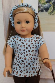 American Girl Doll Back to School Brown and by Sariahsdollcloset, $15.99