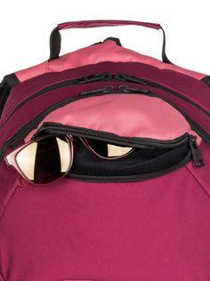 roxy, , Red Plum - Solid (rrc0) Roxy Backpacks, Red Plum, Bags, Fashion, Handbags, Moda, Dime Bags, Fasion, Totes