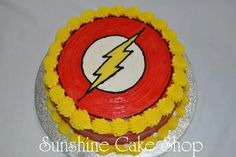 The Flash smash cake