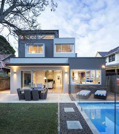 Architect House, Exterior, Mansions, Street, House Styles, Home Decor, Decoration Home, Room Decor, Villas