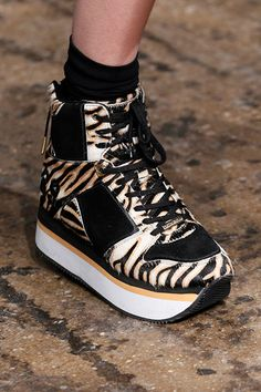 Trends: Sneakers, DKNY // Fall fashion 2014: 231 photos of the top 10 trends of the season http://www.fashionmagazine.com/fashion/2014/08/18/fall-fashion-2014-top-10-trends/