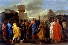 NICOLAS POUSSIN, 1594 - 1665: The seven Sacraments: Ordination, Oil on canvas, 117 x 178.