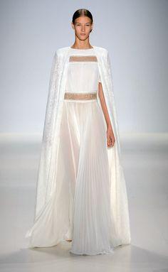 Shoji RS15 3029 vestido novia con capa
