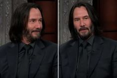 """Keanu Reeves Left Stephen Colbert Speechless With The Perfect Answer To An """"Impossible"""" Question Baby Avengers, Avengers Age, Kill With Kindness, Hacks Every Girl Should Know, Respect Women, Press Tour, Stephen Colbert, Breakup Quotes, Woman Standing"""