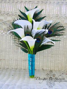 peacock calla lily