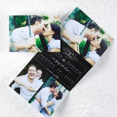 The perfect place to find your Save the Date Photo Cards. I was able to place my order online, personalize with my wedding date and everything was shipped right to my door!