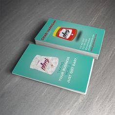 Cartão de Visitas, do site Des1gnon.com