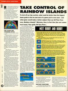 Amiga Power Rainbow Islands guide Page 1