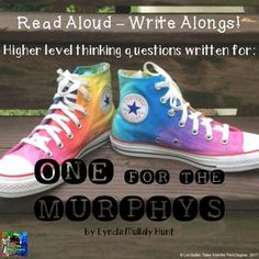 One for the Murphys Read Aloud Write Along by Tales From the Third Degree Frindle, Ela Classroom, Classroom Ideas, Balanced Literacy, Literature Circles, Book Study, Chapter Books, Writing Skills, High Level