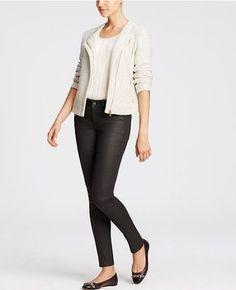 Ann Taylor Skinny Pants Titanium Wash
